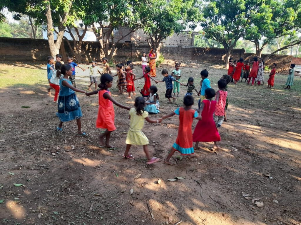 Kids at Ananda Nagar Gurukul